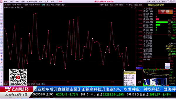 窦维德:通过涨跌比看市场反抗力量