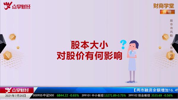王雨厚:股本大小对股价有何影响