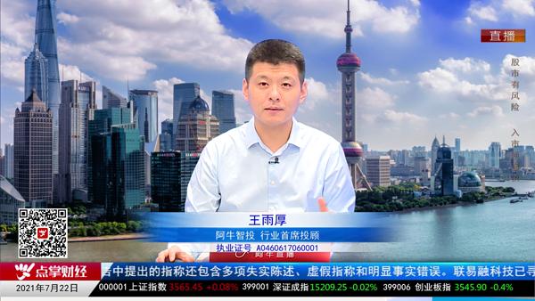 王雨厚:创业板技术震荡 主板权重跌出机会