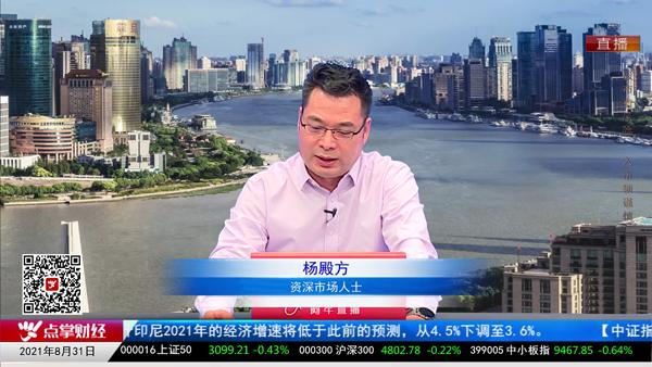 杨殿方:上证指数9月份高看一线!