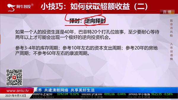 刘伟鹏:如何获得超额收益之择时