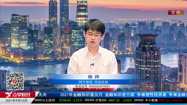 杨帅:市场热点轮动,警惕节奏风险