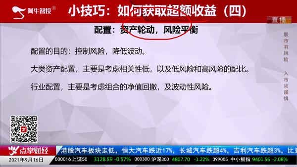 刘伟鹏:如何获取超额收益(四)