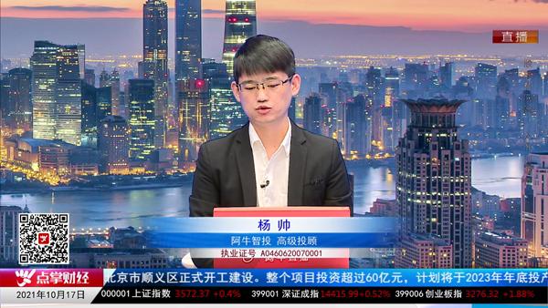 杨帅:市场有止跌企稳反弹的机会