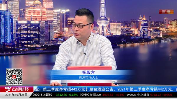 杨殿方:市场明天放量,指数看多