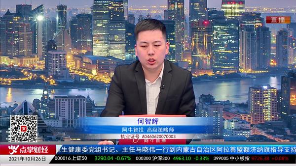 何智辉:市场风险偏好不理想