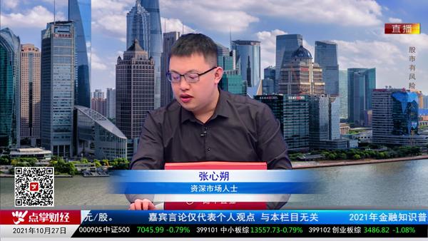 张心朔:市场需要下跌,增加成交量!